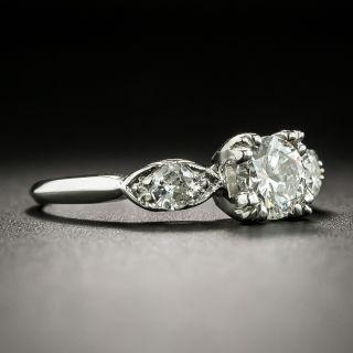 Mid-Century .70 Carat Diamond Engagement Ring - GIA