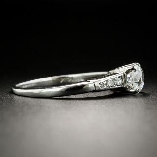 Mid-Century .70 Carat Diamond Engagement Ring