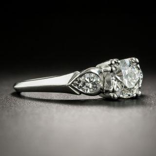 Mid-Century .72 Carat Diamond Engagement Ring by Loretz and Benoit