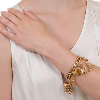 Mid-Century Charm Bracelet