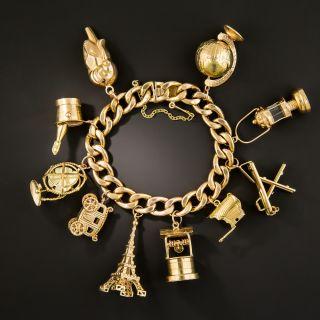 Mid Century Charm Bracelet - 3