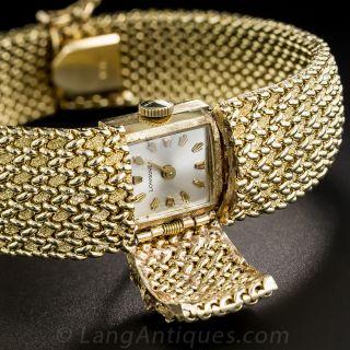 Mid-Century Cover Wrist Watch