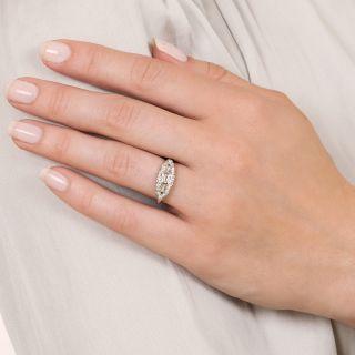 Mid-Century Diamond Band Ring by Albert Samuels Co.