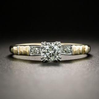 Mid-Century Diamond Engagement Ring - 1
