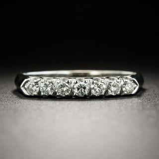 Mid-Century Diamond Wedding Band - 2