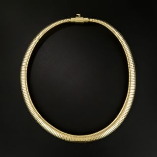 Mid-Century Gas Pipe Necklace by Forstner - 2