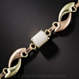 Mid-Century Opal Bracelet