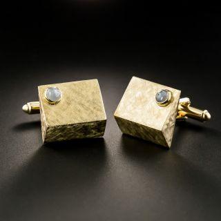 Mid-Century Star Sapphire Cufflinks - 2