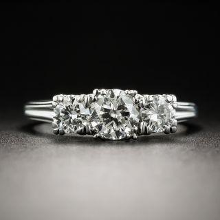 Vintage Three-Stone Diamond Ring By Jabel - 2