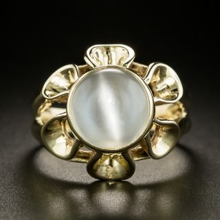 Mid-Century Vintage Cat's-Eye Moonstone Ring  - 3