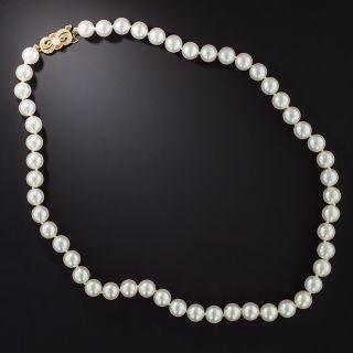 Mikimoto Pearl Necklace - 2