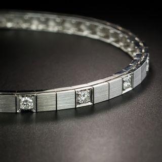 Modern Diamond Line Bracelet - 2