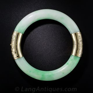 Natural Jadeite Bangle Bracelet