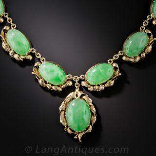 Natural Jadeite Necklace - 1