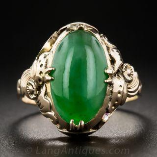 Natural Jadeite Ring