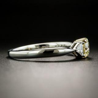 Natural Yellow .43 Carat Diamond Engagement Ring