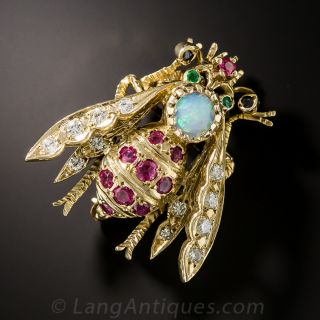 Opal, Ruby, and Diamond Bee