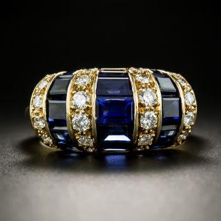 Oscar Heyman Sapphire and Diamond Ring - 2