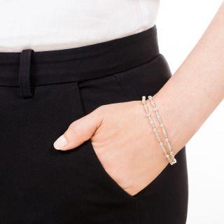 Pair Of Edwardian Diamond Bracelets