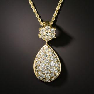 Pavé Diamond Pendant Necklace - 5.36 Carats - 1