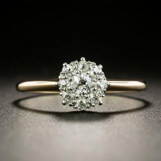 Petite Victorian Diamond Cluster Ring - 2