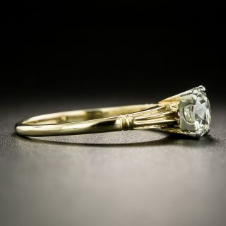 Post-Art Deco .60 Carat Solitaire Diamond Engagement Ring