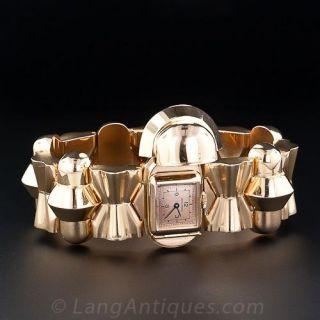 Retro  Bracelet Covered Watch
