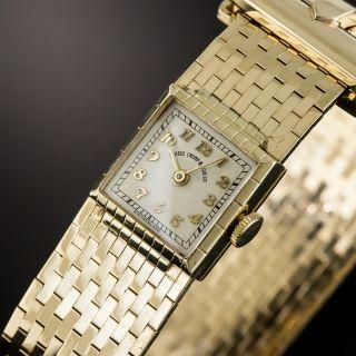 Retro Buckle Style Bracelet Watch by Shreve Crump & Low /Movado