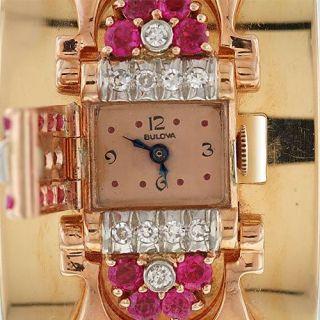 Retro Bulova Bangle Watch