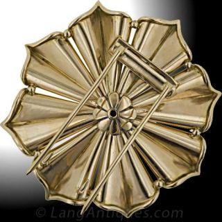 Retro Diamond Brooch