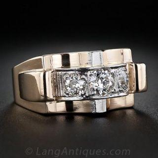 Retro Diamond Ring