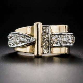 Retro Diamond Ring - 1