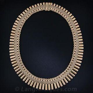 Retro Fringe Necklace