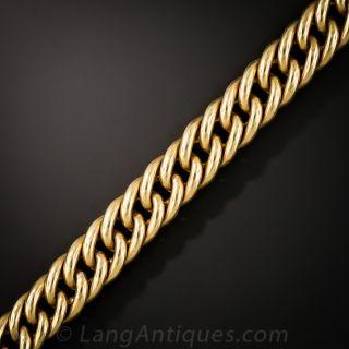 Vintage 18K Gold Link Bracelet