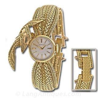 Retro Gubelin Covered Bracelet Watch