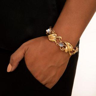Retro Moonstone Bracelet