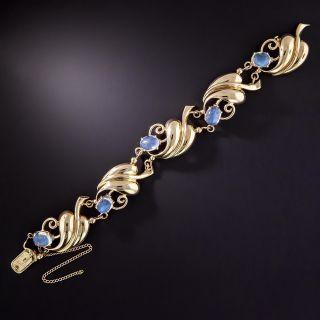 Retro Moonstone Bracelet - 1