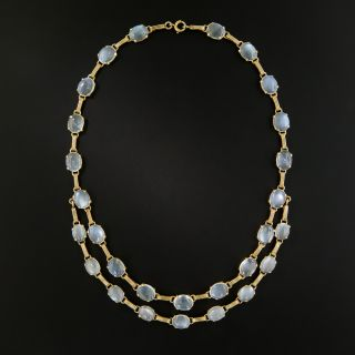Retro Moonstone Necklace - 2