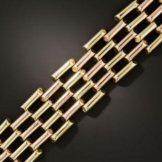 Retro Two-Tone Bracelet by Garrigus - 3