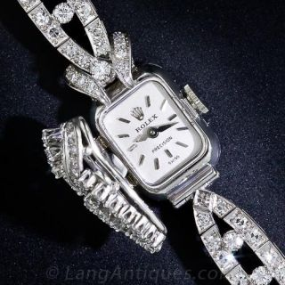 Rolex Ladies Diamond Bracelet Watch