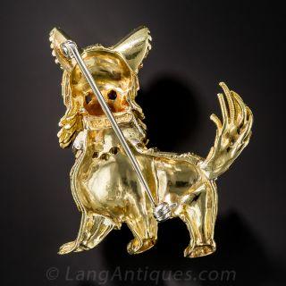 Rosenthal Doggy Pin