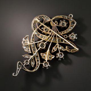 Russian Diamond Brooch