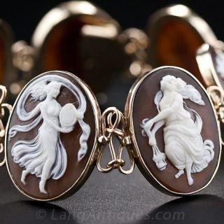 Seven Muses Cameo Bracelet