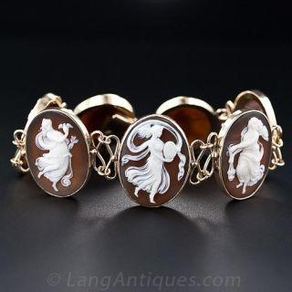 Seven Muses Cameo Bracelet - 2