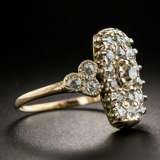 Small Victorian Diamond Dinner Ring
