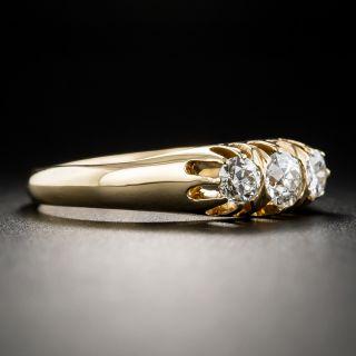 Swedish Vintage Three-Stone Diamond Ring
