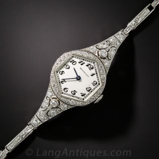 Tiffany & Co. Art Deco Watch