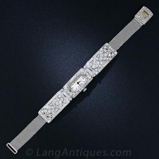 Tiffany & Co. Diamond Dress Watch