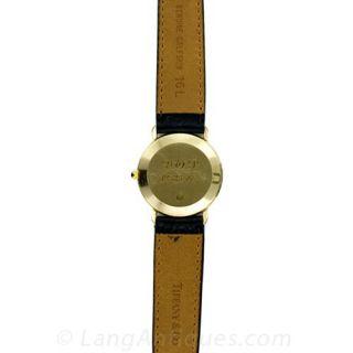 Tiffany & Co. Ladies Gold Strap Watch