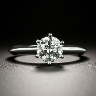 Tiffany & Co. 1.02 Carat Round Brilliant Cut Diamond Solitaire Ring GIA - G VVS2